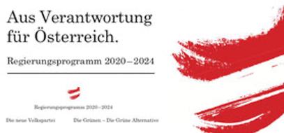 Das Logo des Regierungsprogramms 2020