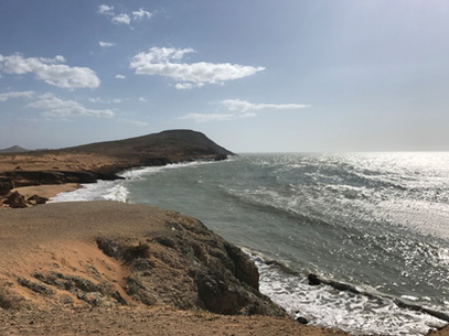 "Jepirra is linked with the territory known as ""Cabo de la Vela"" (photo Laura Lema Silva)"
