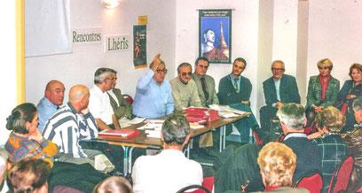 Rencontre à la Librairie Lhéris en 1996