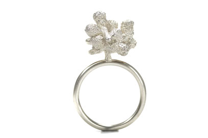 """Hoffnungsblume"" - Ring in Sterling Silver"