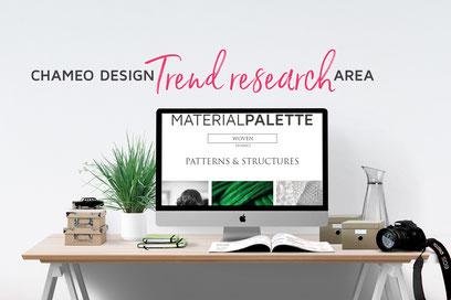 Chameo Design trend research area