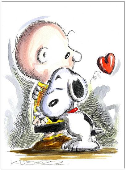 Charlie & Snoopy