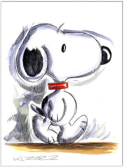 Walking Snoopy