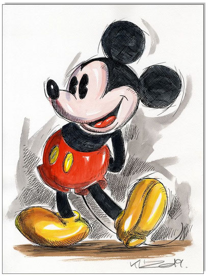 Retro Mickey Mouse II