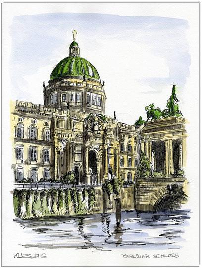 BERLIN - Berliner Stadtschloss