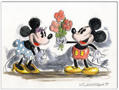 Mickey & Minnie in love II