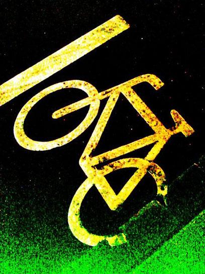 Broken Bike Nr.247 (c) De Toys, 2.2.2015 @ Ackerstraße, Düsseldorf