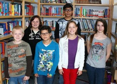 SV-Team 2014/2105:  Justin, Meike, Marcelo, Mikael, Jasmin, Jessica