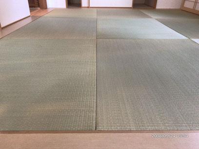 横浜市港南区の畳店 内藤畳店 琉球風畳目積表