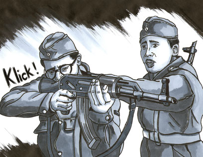Bild aus dem Comic Todesstreifen