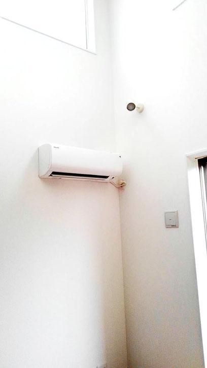 エアコン設置ビフォー1 鎌ヶ谷のリフォーム2