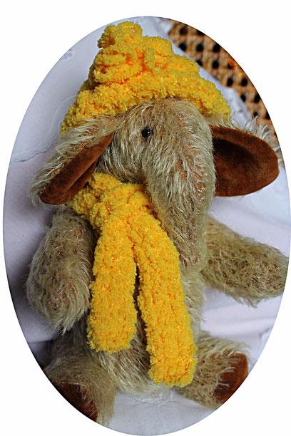 "Sammler Teddybären collectors Teddy Bears Elefant ""Marusja"" Handmade"