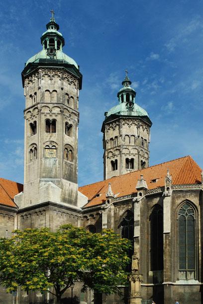 Naumburger Dom, Osttürme und Chor, 1. Hälfte des 13. Jh. (2.9.2006)