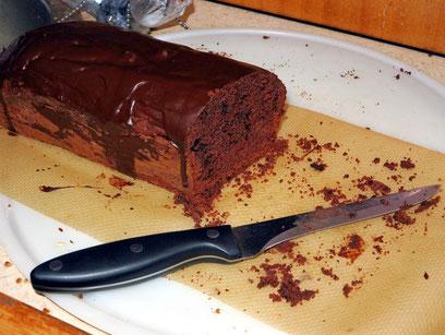 Gerds Schokoladenkuchen, ein Hochgenuss des Konditorhandwerks