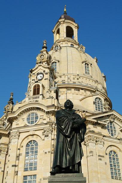 Lutherdenkmal des Bildhauers Adolf von Donndorf (1835-1916) (10.3.2008)