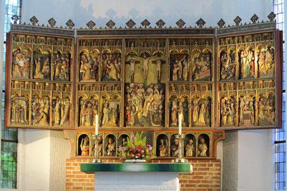 Spätgotischer Erzväteraltar von 1460