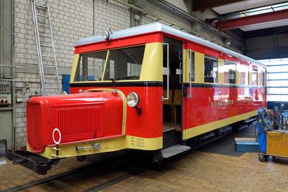"""""""Wismarer Triebwagen"""" T 1 (Bj. 1940)"""