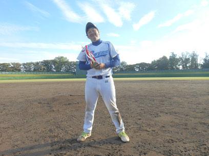 〈打撃賞〉ミラクルパワーズ村田翔選手