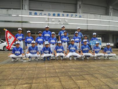 〈三位〉けいせつ野球クラブスポーツ少年団