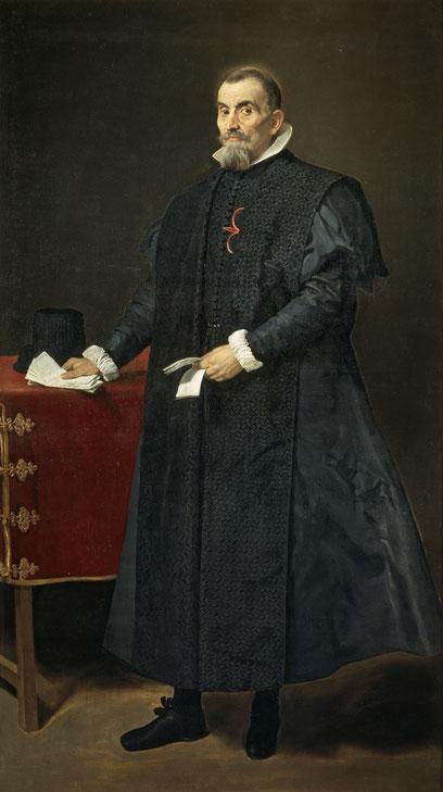 Diego Velázquez.D Diego del Corral, esposo de  Dña Antonia de Ipeñarrieta. 1632.Óleo sobre lienzo 215x110cm.Museo del Prado Madrid.