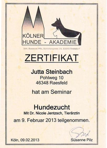 Seminar Hundezucht