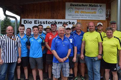 Siegerfoto Gruppe 2 - Sieger: ESV Schlag