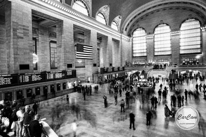 New-York, new york, nyc, manhattan, station, noir et blanc, black and white, street photography, big apple, carcam, je shoote