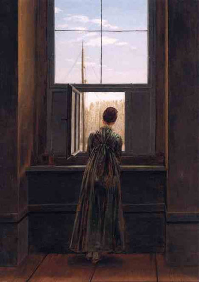 Женщина у окна. 1822