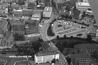 Parkplatznutzung  um 1970 - Foto Alfred Kaup