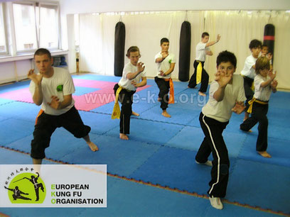 Kung Fu als Kampfsport & Kampfkunst eignet sich sehr für die motorische Ausbildung und weckt Spaß an Bewegung