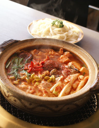 伊丹の成田屋・チゲ鍋