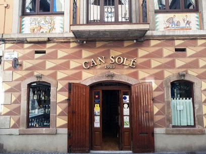 Can Solé - рестораны каталонской кухни в Барселоне