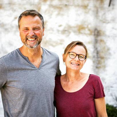 Roland und Corinne von agriturismo vecchia quercia
