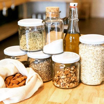 Proteinbrot ohne Mehl und Hefe