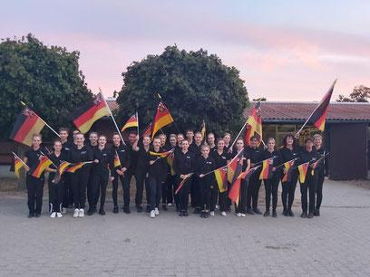M-Team Cup Sieger 2018, VRG Südwestpfalz / Quelle: Vaulting Moments, Facebook
