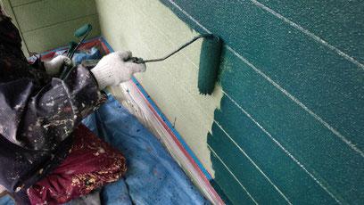 熊本T様家。関西ペイント・防カビ・高耐久塗料使用。グリーンカラー