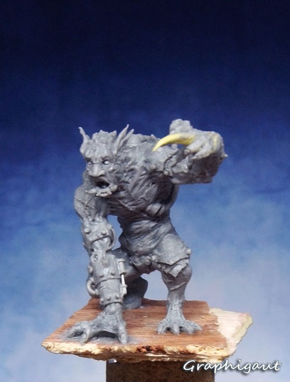 beast of bakerloo, sculpture, graphigaut, 32mm, beesputty