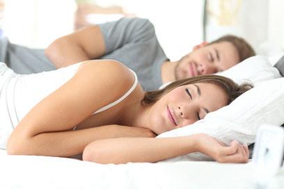 gesund schlafen im Wasserbett