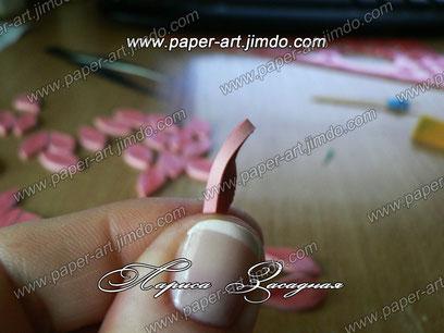 квиллинг картины цветы бумага