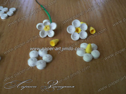квиллинг картины бумага цветы черемуха заказ мастер класс