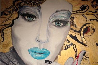 ° La Medusa oil on canvas 100x150 / gen. 2012