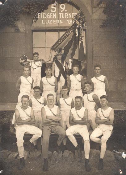 Die Wittnauer Turner am Eidg. Turnfest 1928