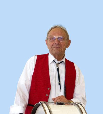 Heinz Peters, Pauker, war unser ältester Aktiver