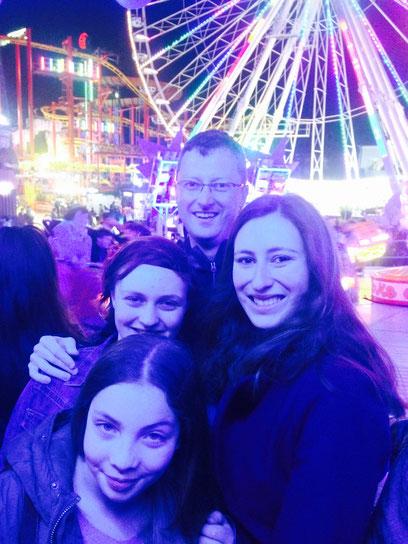In Wien mit meinen drei Götti-Mädels