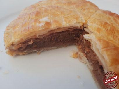recette galette des rois frangipane chocolat sans gluten sans lactose