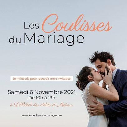 Les Coulisses du Mariage à Paris- 06 Novembre 2021