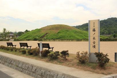 藤ノ木会の名称は、西里の村にある藤ノ木古墳にちなんだものです。1985年に古墳内から石棺が発見されて、中からたくさんの副葬品が見つかり、日本中が騒然となった事を覚えておられる方も多いはず。2体あったとされる披葬者は誰なのか? 今尚結論は出ておらず古代史ファンの興味は膨らむ一方です。