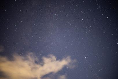 高原の星空を撮影しました