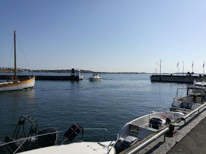 Hafenausfahrt Insel Hönö Schweden