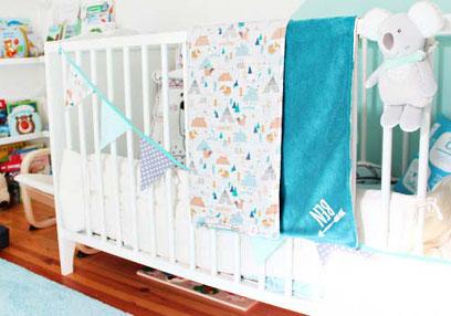 Kinderzimmer - Babydecken - nähfein